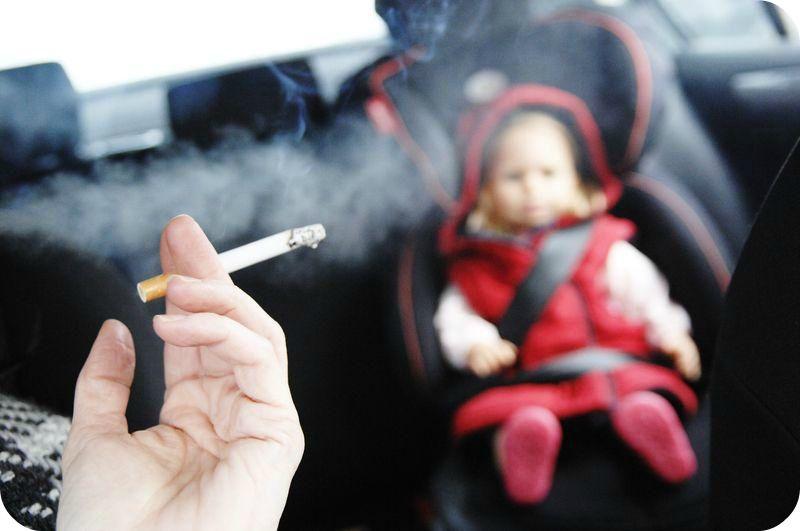 Курящие родители и их дети