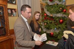 Максим Сергеевич Оберман - организатор Шахматной Ёлки в МОскве
