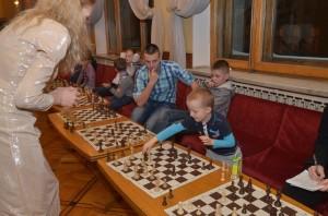 Мария Фоминых на Шахматной Ёлке