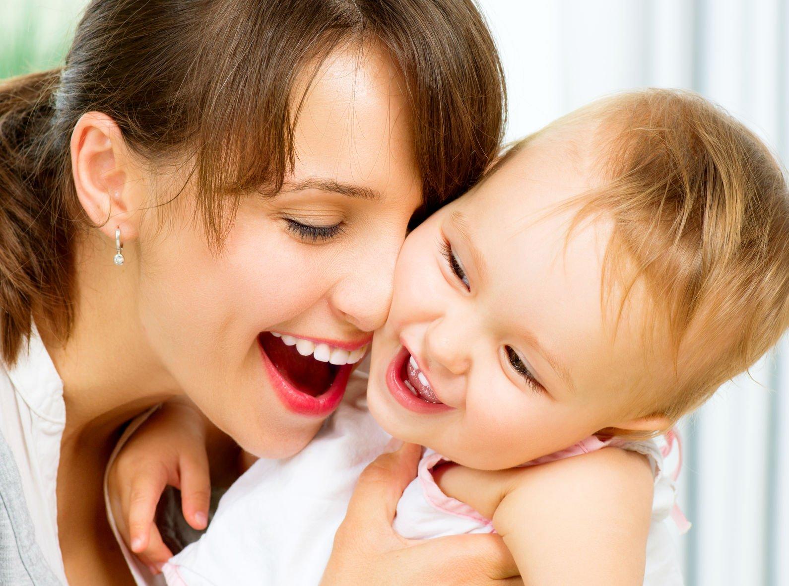 Лучшие фото матери и ребенка